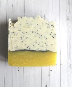 лимонный мак натуральное мыло с нуля купить в интернет магазине