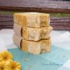 натуральное мыло ручной работы желтая ромашка